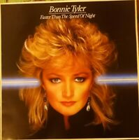 VINILE LP BONNIE TYLER - FASTER THAN THE SPEED OF NIGHT 33 GIRI 1983 CBS 25304