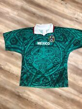 MEXICO NATIONAL TEAM VINTAGE 1998 WORLD CUP SOCCER JERSEY LARGE