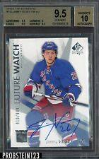 2016-17 SP Authentic Future Watch #152 Jimmy Vesey RC AUTO /999 BGS 9.5 w/ 10