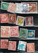 (12-987 94 Assorted Cancelled  Worldwide  Postage sTamps