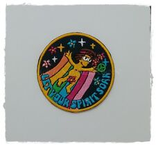 The Simpsons Patch Sew Iron on Embroidered Logo Badge Cartoon Symbol Jacket Diy