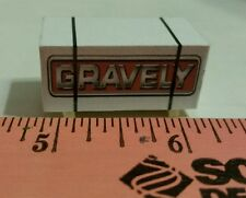 1/64 ertl custom farm toy Pallet gravely lawn mower skid parts dcp s scale