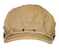 Newsboy Cabbie Vintage Women Men Fashion Hat Cap unisex--Khaki
