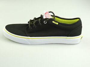Vans Vulcanized black Unisex Herren Schuhe Sneaker Shoes schwarz neu Wählbar