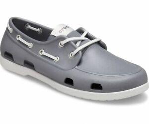 Crocs Classic Boat Shoe Slate Grey