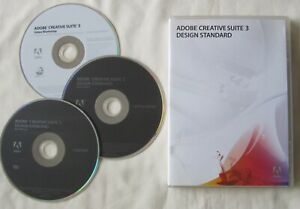 Adobe CS3 Design Standard MAC OS Creative Suite 3, with Serial Number