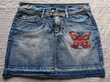 "Mini Jupe Femme en Jean "" KAPORAL 5 "" Taille 37"