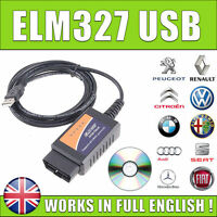 ELM327 OBDII OBD2 CAN-BUS USB Auto Diagnostic Code Scanner Reader Tool V1.5