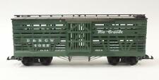 LGB LEHMANN G Scale #4068 D&RGW Denver & Royal Gorge Wood Panel Stock Car EXC