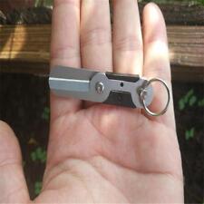 EDC Survival Outdoor Mini Spring Scissor Pocket Tool Stainless Steel Key Chainㅅ