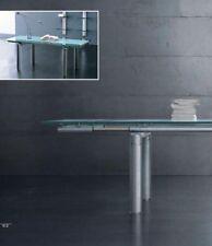 Tavolo Buby by Miniforms in Vetro e Metallo - Allungabile 170-240x100
