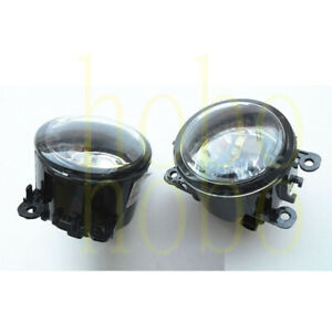2x For Land Rover Discovery 4 LR4 2014-16 Left+Right Fog Light Lamp Bulb Cover