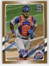 2021 Topps Series 1 Mets Wilson Ramos #127 Gold Parallel 1888/2021