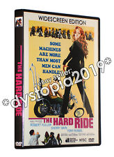 THE HARD RIDE WIDESCREEN DVD (1971) Robert Fuller Sherry Bain Tony Russel