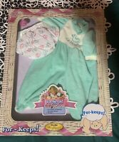 """Berenguer For-Keeps! Sleeper Reusable Diaper 17"""" Baby Doll Clothes Outfit in Box"""