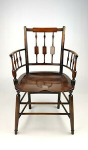 An Unusual 19th Century Country Armchair.