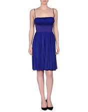 NWT £700 Alessandro dell'Acqua Blue/Purple Dress (Cocktail,Net-a-porter,Millen)