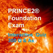 PRINCE2 Foundation Interactive Quiz - 300 REAL Exam Q&As + Explanations