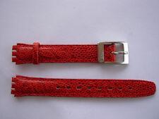 SWATCH  x LADY o IRONY LADY RED ROSSO - NEW strap band cinturino
