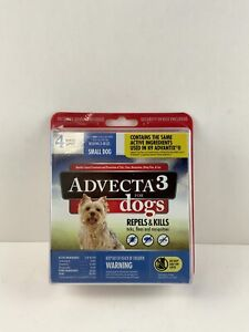Brand New Advecta 3 for Small Dogs 5 - 10 lbs, 4 Month Supply, - Fast Shipping