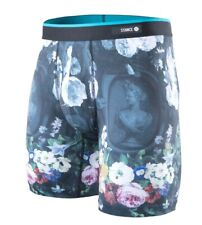 Stance The Boxer Brief Flora Poly Blend Fitted Boxer Brief Men S Small (28-30)