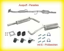 Abgasanlage & Katalysator VW Polo IV 1.4 16V Typ 9N (55 & 74KW  AUA BBY AUB BBZ)
