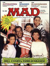 MAD Nr.229 von 1989 - TOP ungelesen! ORIGINAL BSV COMIC Satire Alfred E.Neumann