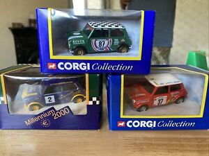 Corgi Collection Mini 1:36 3 Model Bundle