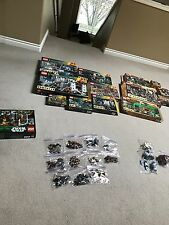 Lego lord of the rings and hobbit, retired sets mint condition + Star Wars set