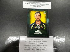 2016/17 CRICKET TAP N PLAY BASE CARD NO.059 GLENN MAXWELL