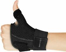 Tutore flessibile per pollice, Stecca di supporto per articolazione, Guanto nero