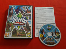LES SIMS 3 ANIMAUX & CIE DISQUE ADDITIONNEL ADD-ON MAC PC DVD-ROM COMPLET VF