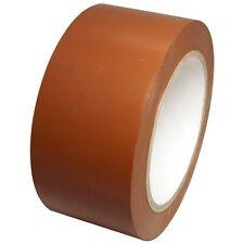Medium Brown Vinyl Tape 2 inch x 36 yd. 1 roll. SPVC