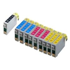 10 x for Epson Stylus SX218 1-3 SX100 SX415 SX200 SX205 SX210 SX110 Ink