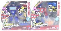 OPTIMUS PRIME & SOUNDWAVE HERO MASHERS Transformers Toys Mash Ups Ultra Magnus