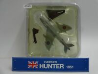 Del Prado Hawker Hunter 1951 1/120 Scale War Aircraft Diecast Display 29