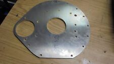 triumph Tr6 /triumph salloon 2000 and 2.5 alloy rear engine plate