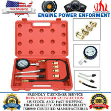 Engine Cylinder Compression Gauge Tester Kit Petrol Gas Engine Diagnostic Tool