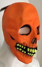 Adult Radioactive Skull Mask - Halloween