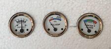 Oliver Tractor Temp Oil Ampere Gauges -Super 44,55,66,77,88,440,660 White Face