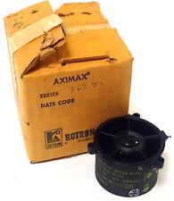 ROTRON AXIMAX 2 SERIES 367J1 VANEAXIAL FAN  200V 20,500 RPM 0.13A 400 HZ NOS