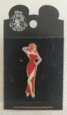 Disney Amblin Collector 2005 Pin Trading Jessica Rabbit Red Glitter Dress
