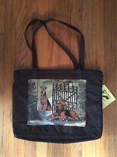Large waterproof purse tote handbag book bag Airedale Lakeland Welsh Terrier dog