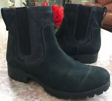Timberland Earthkeepers Atrus Chelsea Black Women's Size 9 Boots #20623 EUC!