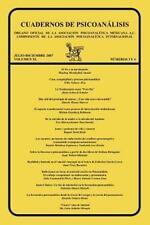 Cuadernos de Psicoanalisis, Organo Oficial de la Asociación Psicoanalítica...