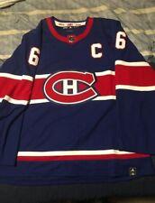 Montreal Canadiens Reverse Retro Shea Weber Adidas Jersey Size 56