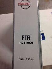 Isuzu FTR 1996 to 2000 Parts Book