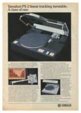 Yamaha PX-2 Original Turntable Ad & Review