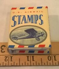 U. S. Airmail Stamps (a Tiny Tomes book) (1996 Hardcover w/ DJ)