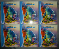 6 copies of MONSTERS INC kohls cares kids picture books lot LARGE HARDCOVERS nos